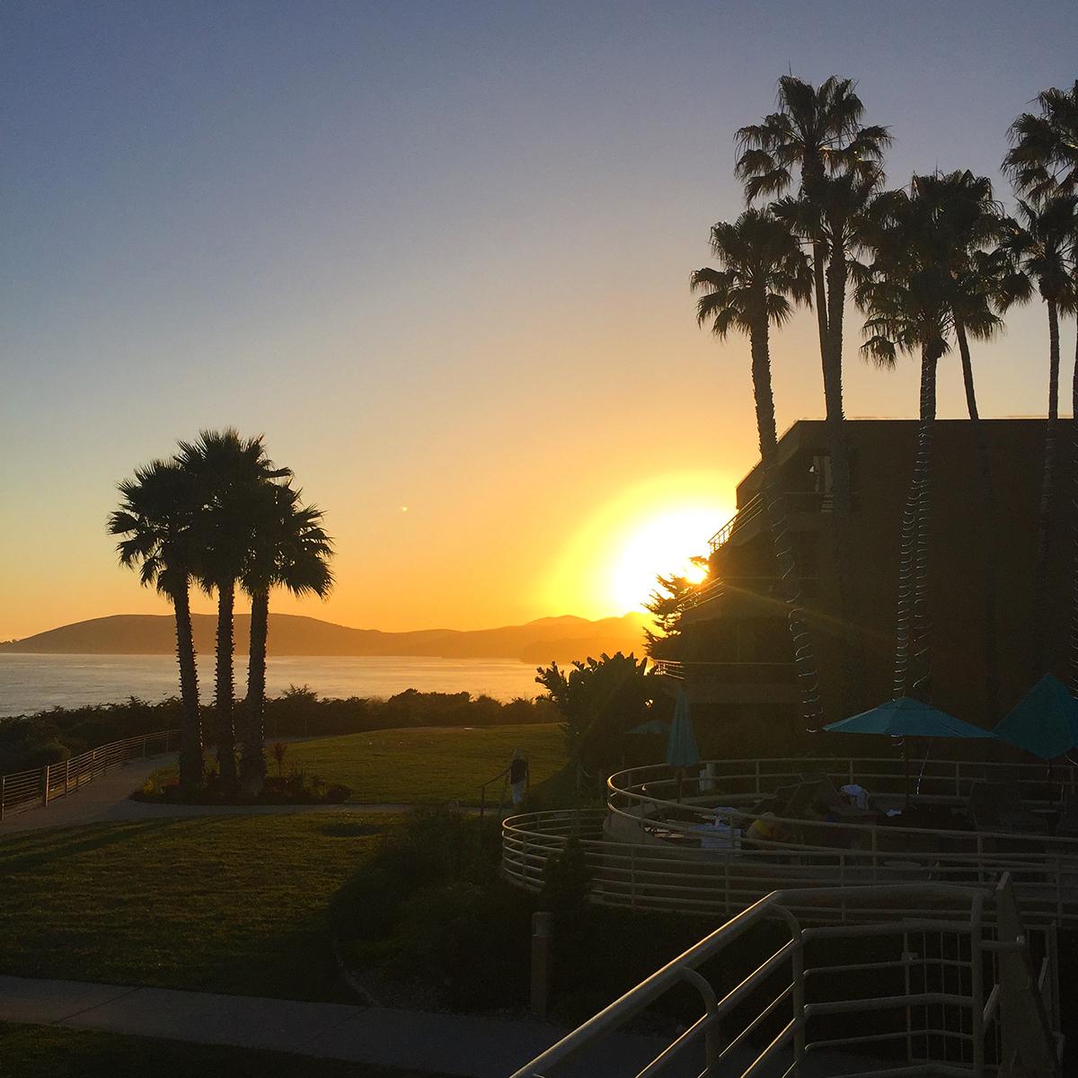 Sunset in Pismo California