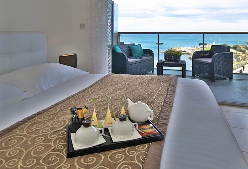 Beachfront Hotel Views