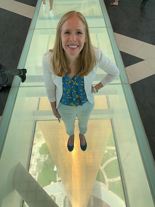 Darley Newman at the Dubai Frame