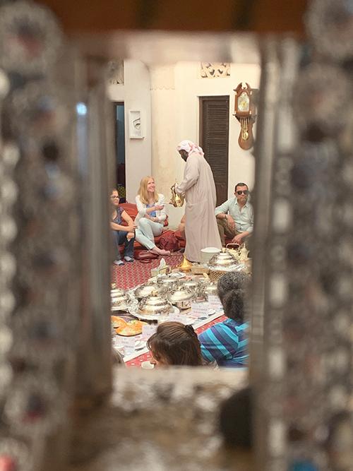 Dubai cultural meal Darley Vacations