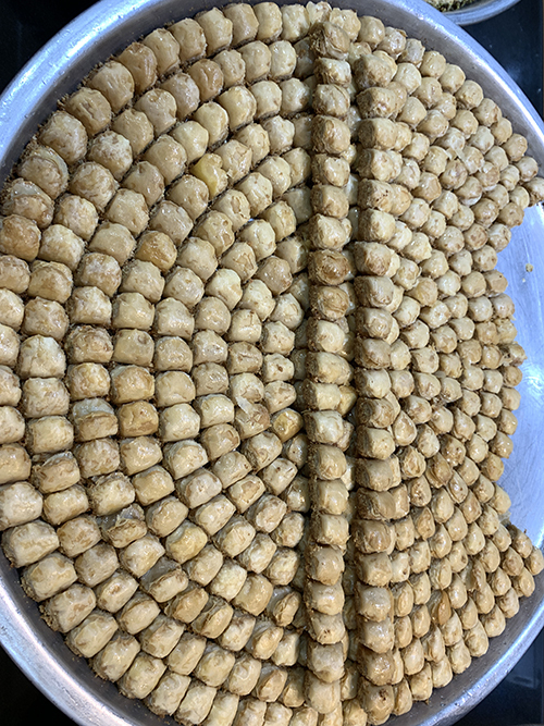 Dubai food tour baklava