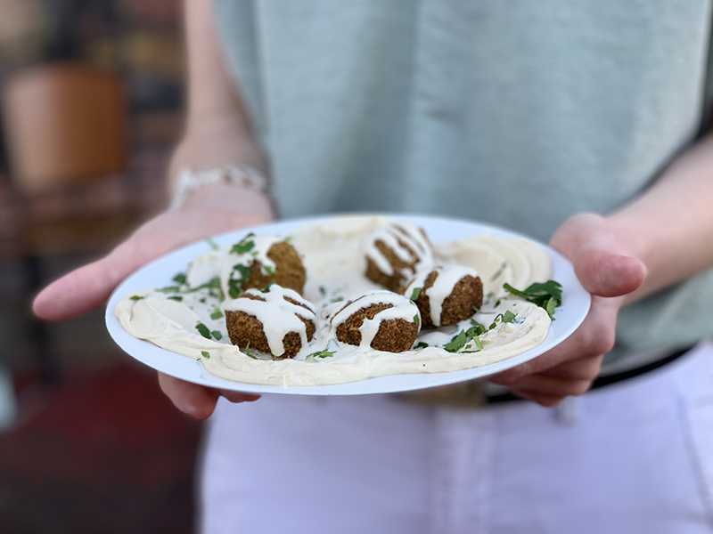 The best falafel we've tried to date