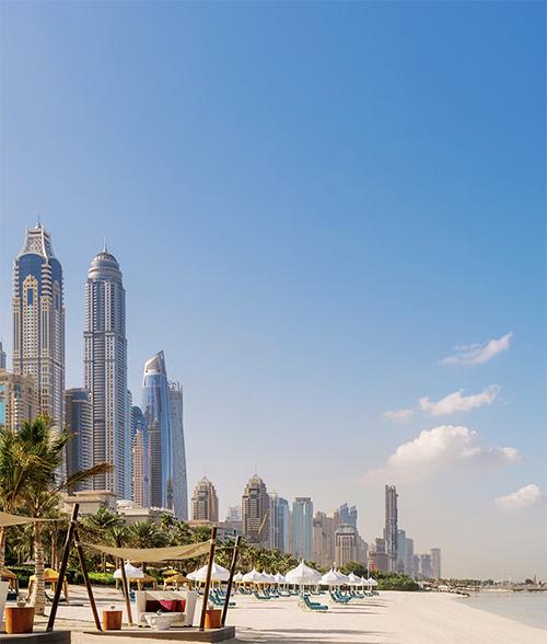 Dubai luxury hotels beachfront views