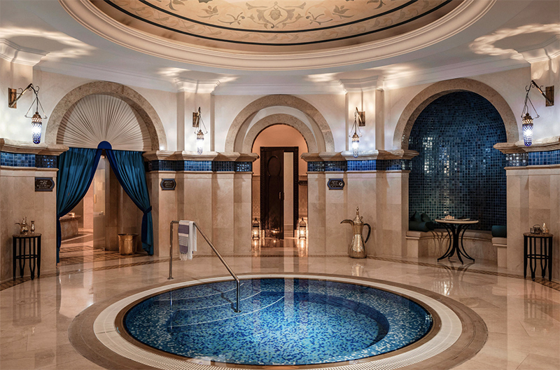 Try a  hammam spa experience