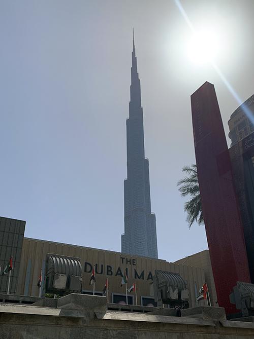 The Dubai Mall and Burj Khalifa