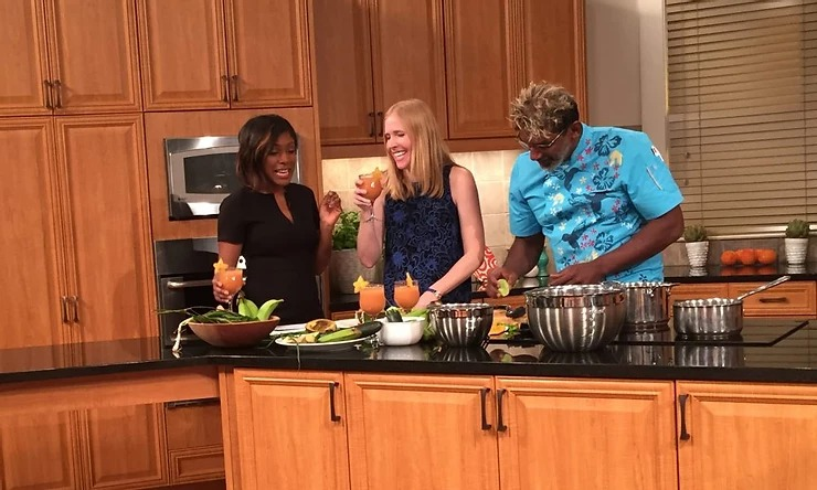 """Great Day Washington"" Martinique Cooking Segment"