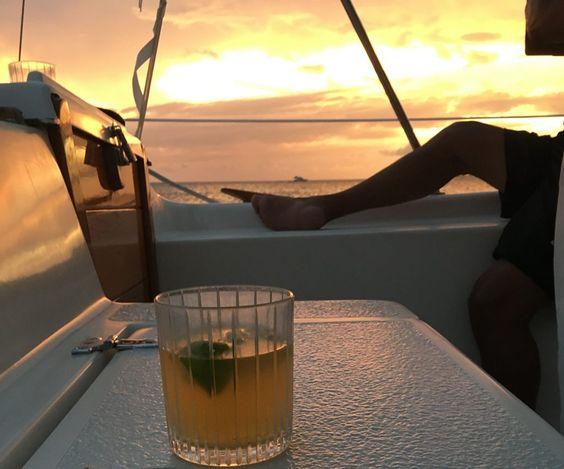Bahamas-Style Dark'n Stormy Drink Recipe