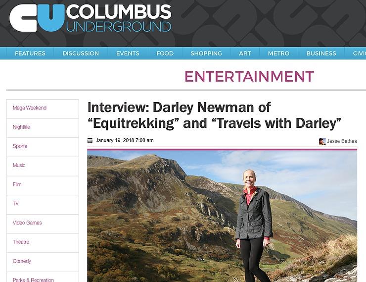 Columbus Underground Interview with Darley