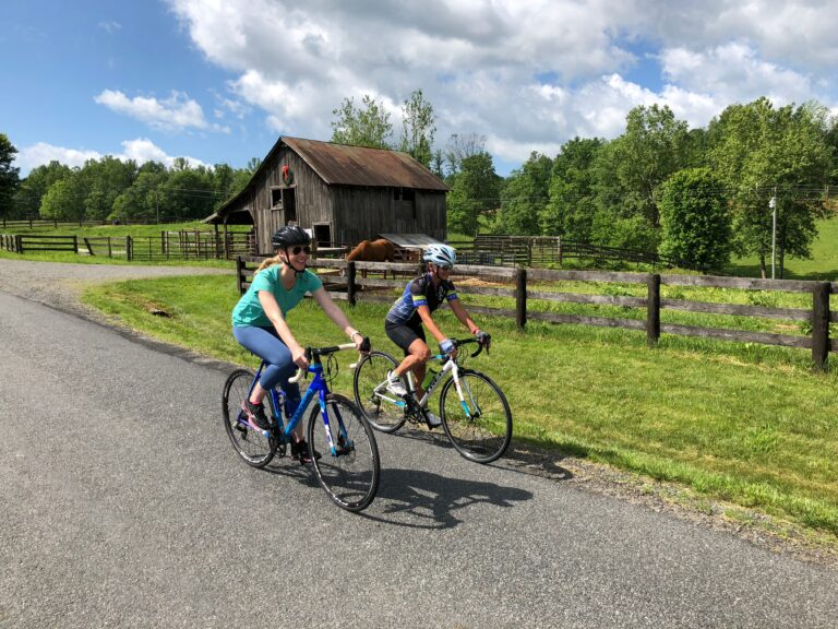 Darley Newman cycling in Virginia