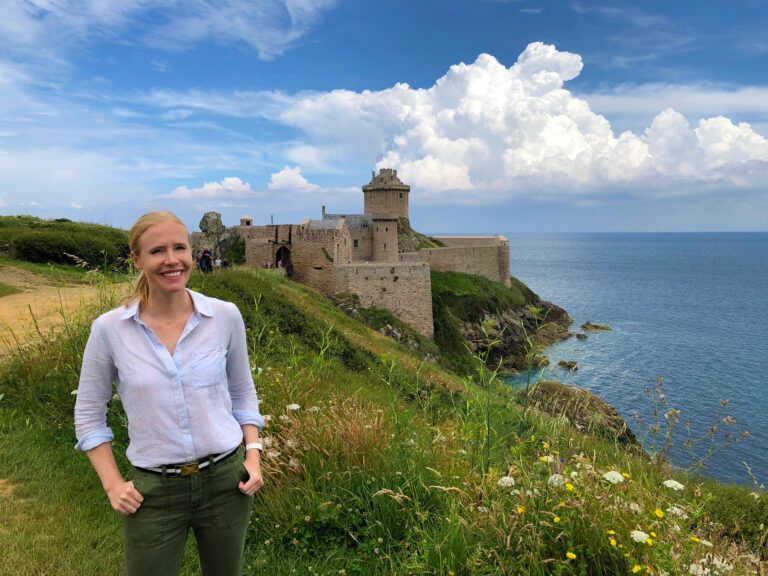 Darley at Fort La Lotte in Brittany, France