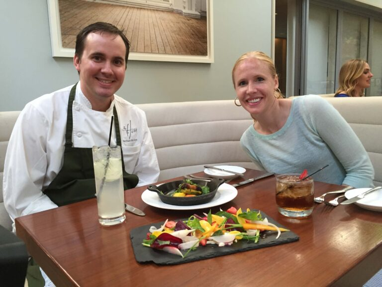 Darley Newman tried Smoked Pork Belly with Chef Matthew McClure