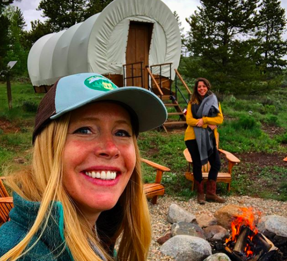Glamping at C Lazy U in Colorado