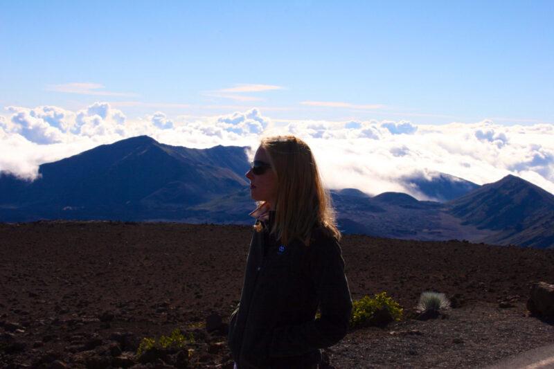 Darley at Haleakalā in Maui, Hawaii