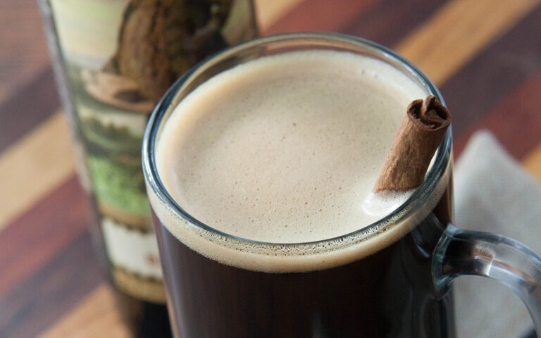 Hot Toddy. Warm Oatmeal Cookie Stout from West Virginia
