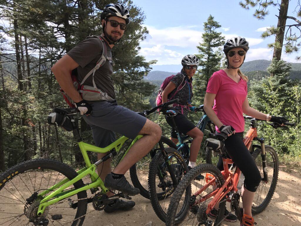 Biking the Santa Fe National Forest