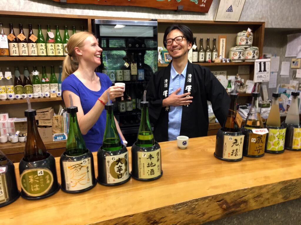 Sake Tasting in Tokyo
