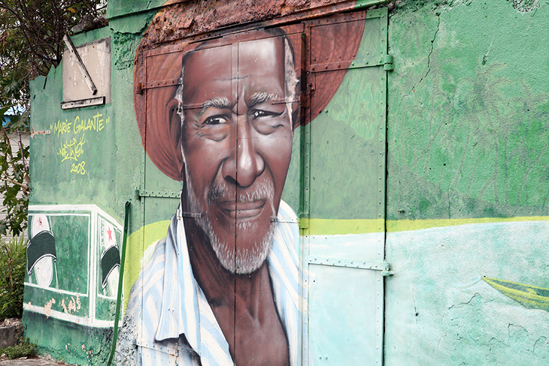 Street art in Marie Galante
