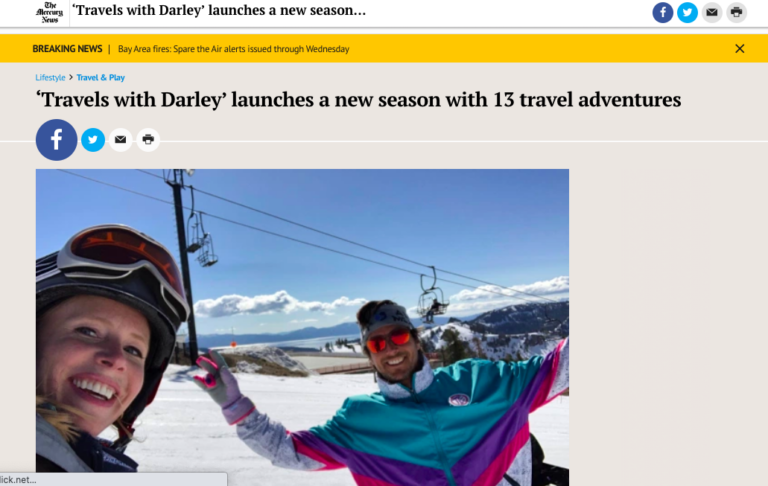Mercury News Covers Darley Newman Ovation TV Launch