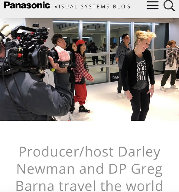 Panasonic Features Darley