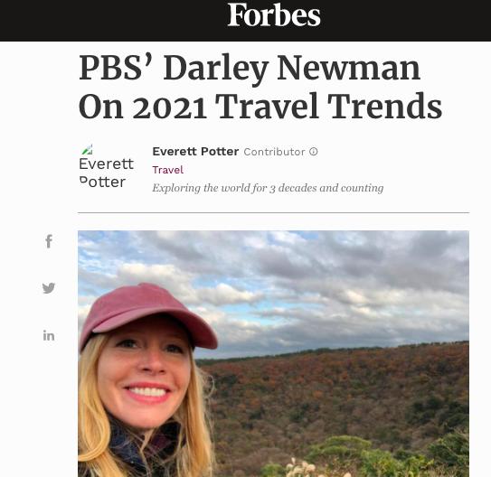 Darley Newman Forbes Magazine