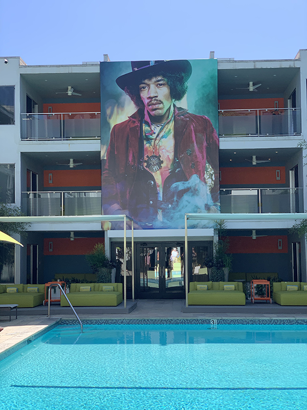 West Hollywood's Sunset Marquis Hotel