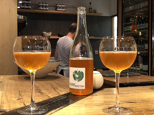Cider tasting with Travels with Darley in Brittany France