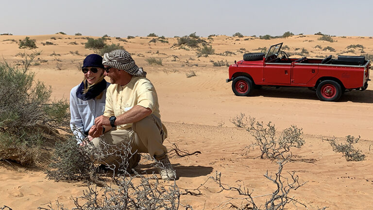 Dubai desert tour Travels with Darley