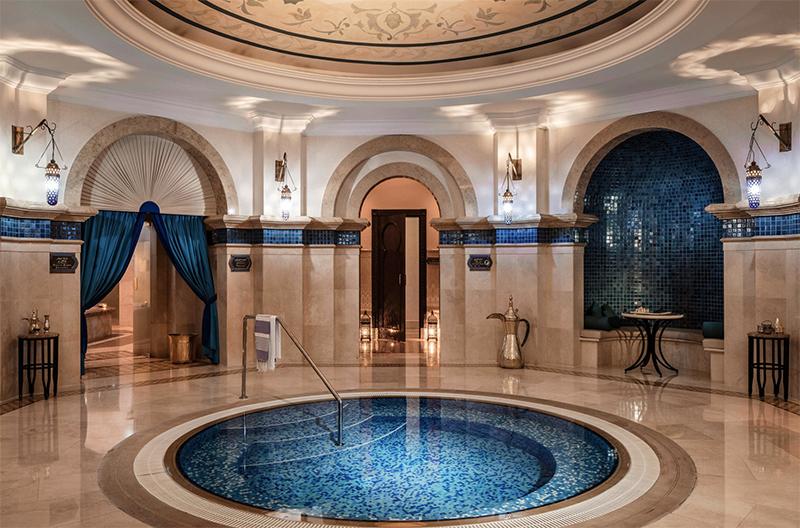 Dubai luxury hotel Darley Vacations hammam