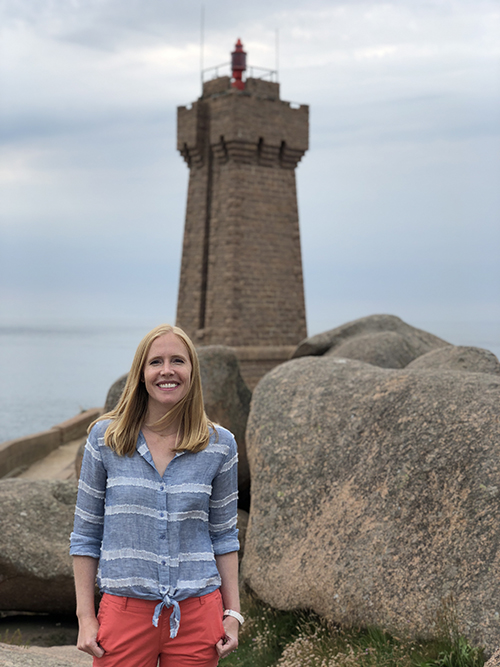 A great lighthouse hike with Darley Newman along France's Pink Granite Coast