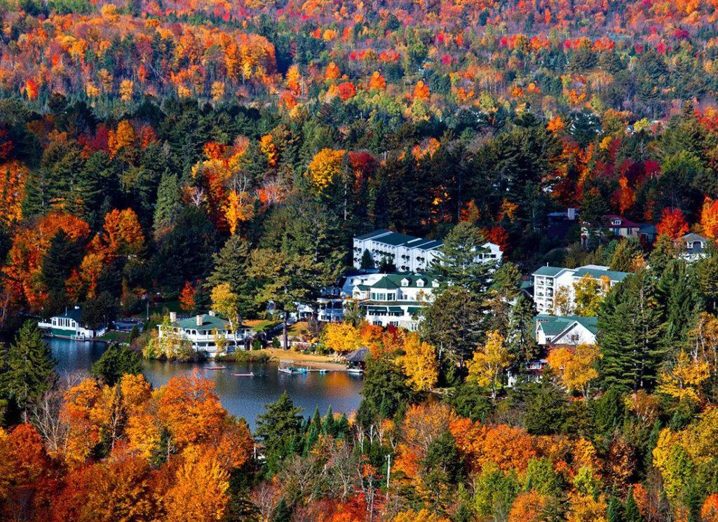 fall foilage Adirondacks Mountain