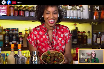Martinique Holiday Cooking Party: Ti' Punch and Accras Recipes