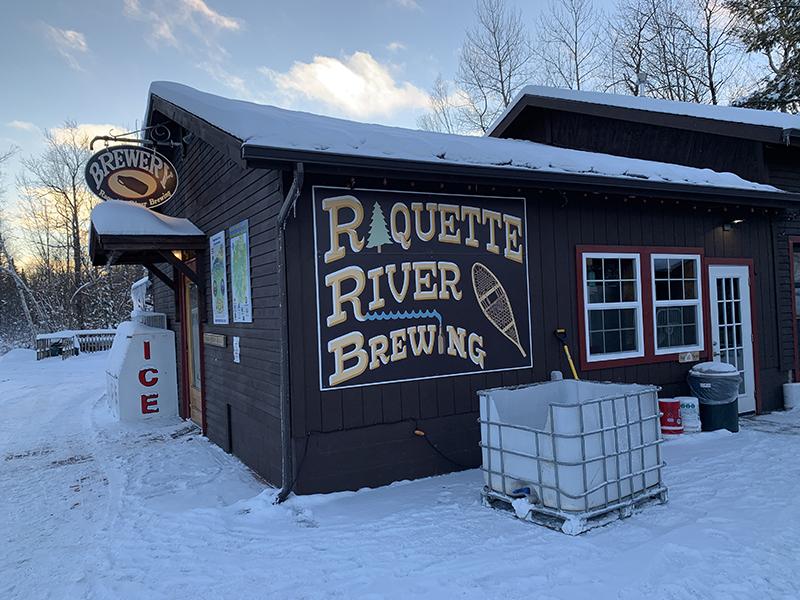 Raquette River Brewing in Tupper Lake