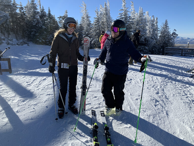 Ski lessons at Whiteface Mountain with an Olympian