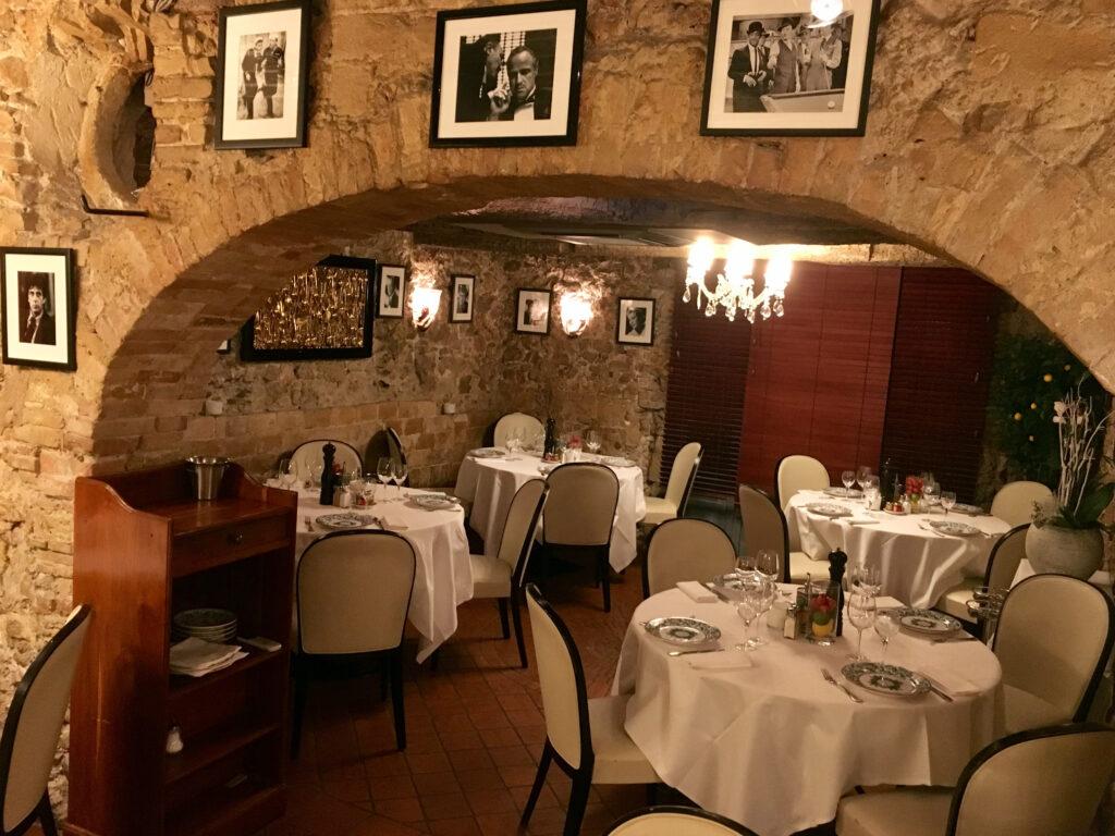 Iconic Chez Mamo restaurant in Antibes
