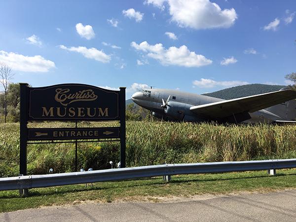 Curtiss Museum in Hammondsport