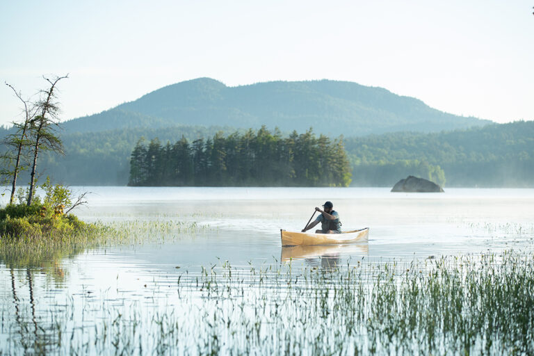 Canoeing in the Adirondacks