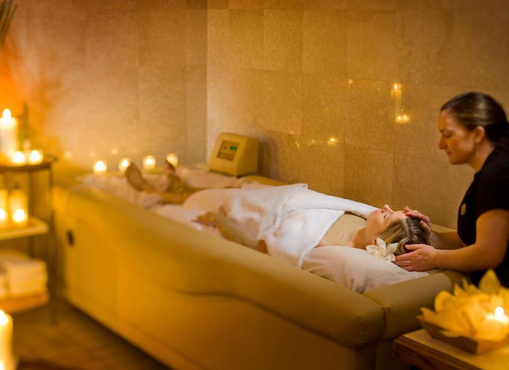 The spa at the Adirondacks inn