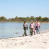 """Secret Beach"" on the Life of the Marsh Trail on Assateague Island"