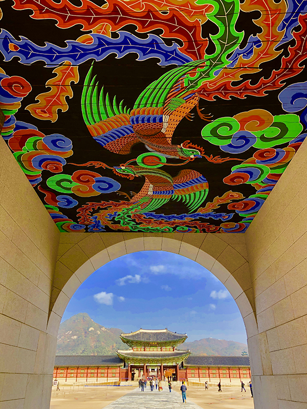 Stunning Gyeongbokgung Palace in Seoul
