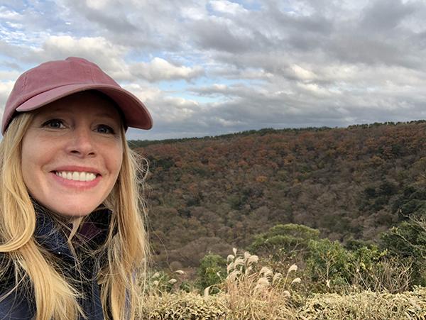 Darley at Sangumburi Crater