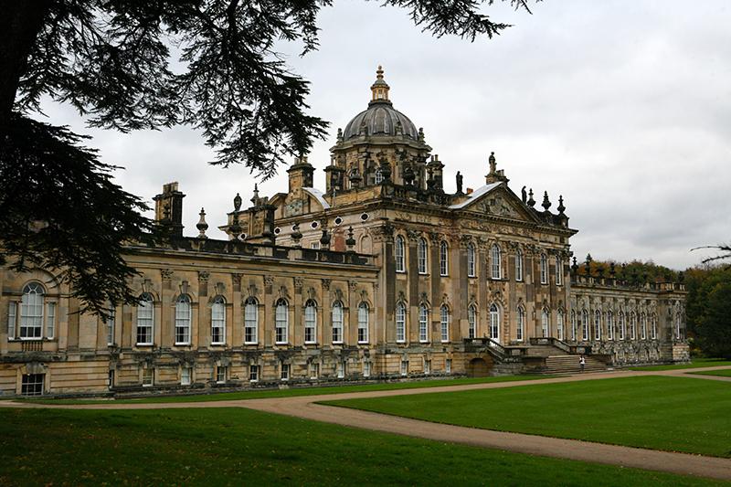 Castle Howard Bridgerton filming site in England
