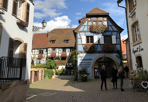 Castles of the Rhine in Eguisheim