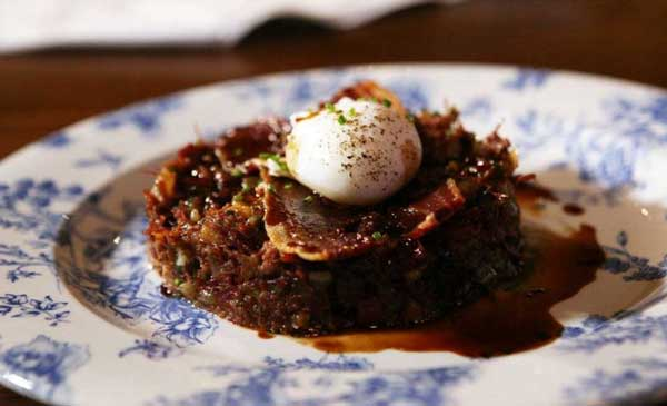 Corned Beef Hash, a traditional British dish