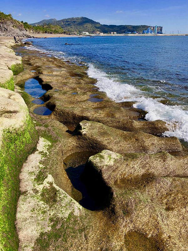 The beaches of Jeju Island in South Korea