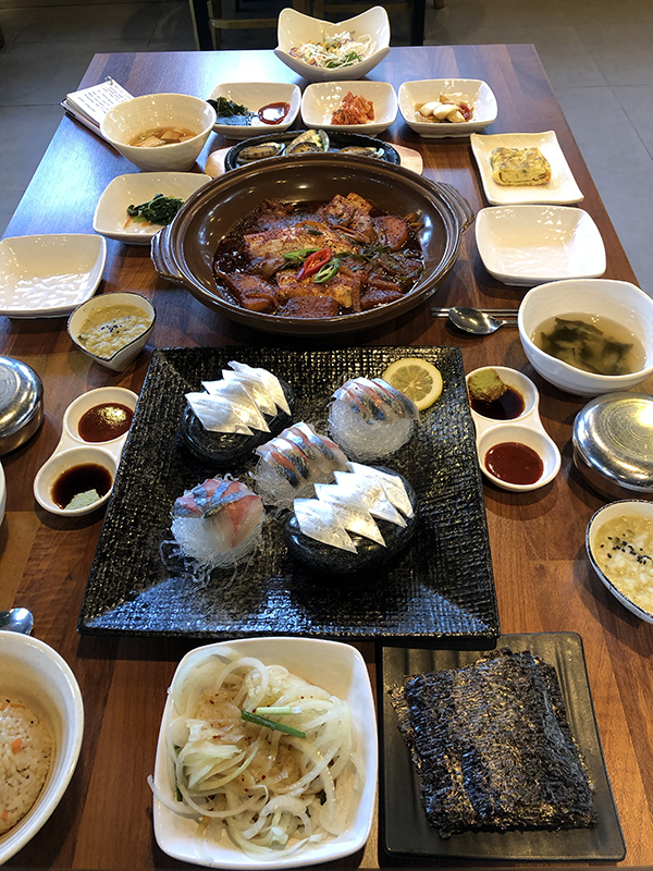 Cuisine on Jeju Island