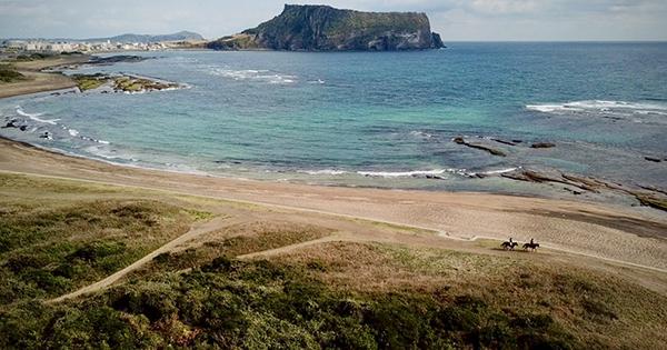 The landscapes of Jeju Island