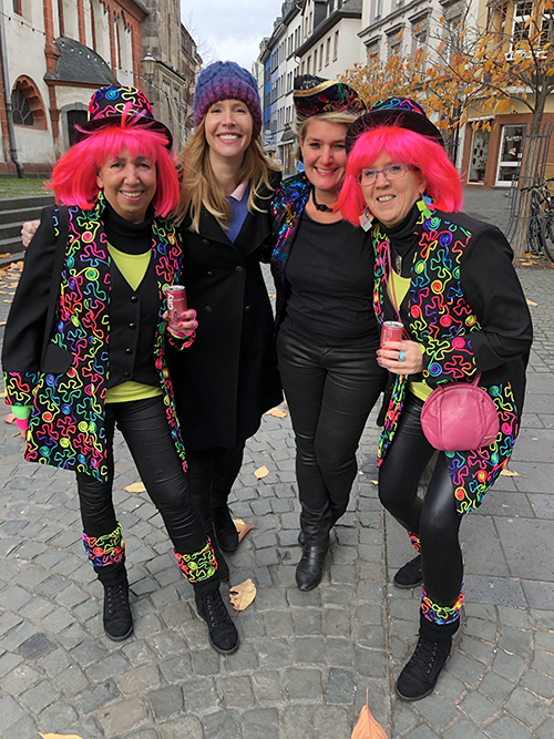 Carnival in Koblenz Germany