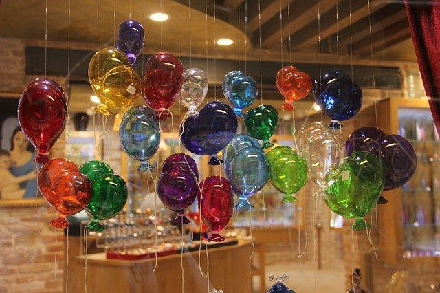 Murano Glass in Venice, Italy