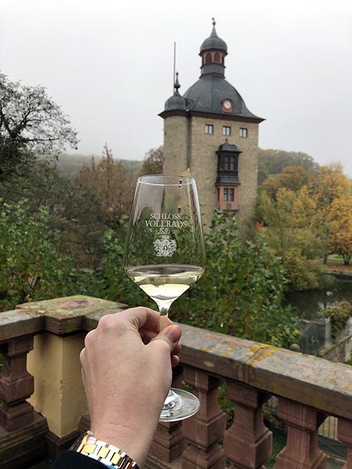 Schloss Vineyards wine tasting in Alsace