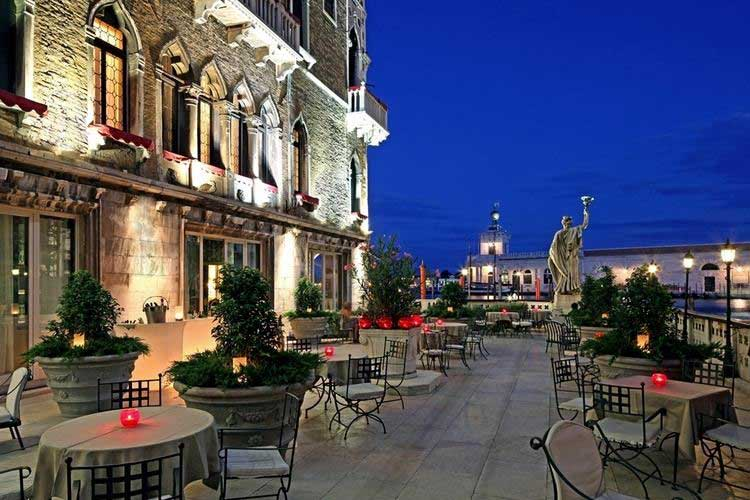 Venice Hotel Outdoor Dining or Drinks